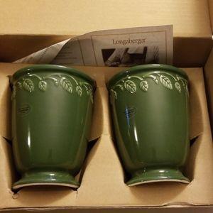 Longaberger vases